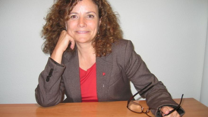 La candidata a encabezar el PSN en Navarra Amanda Acedo.