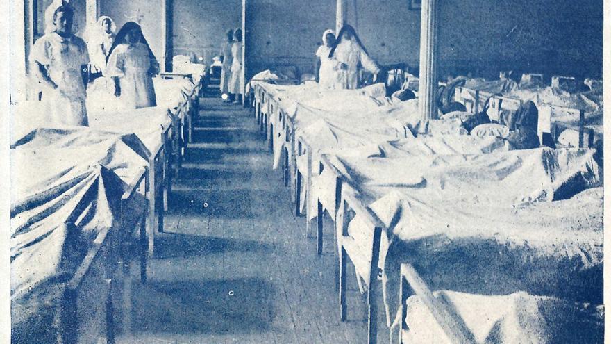 Hospital militar de prisioneros de Liérganes. | REVISTA NUEVA ESPAÑA