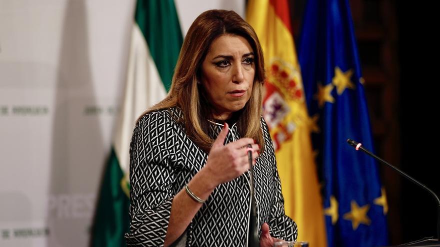 """Susana Díaz ve """"urgente"""" reformar la Constitución pero cree que ni el PP ni Podemos """"tienen voluntad"""" para hacerlo"""