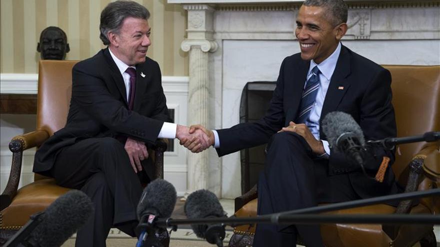 """Obama anuncia el nuevo plan """"Paz Colombia"""" con más fondos para el país andino"""
