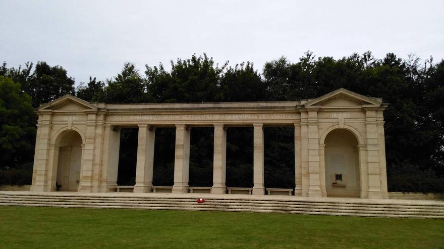 Memorial de Bayeux, dedicado a los combatientes en Normandía. CARLOS FERRERA