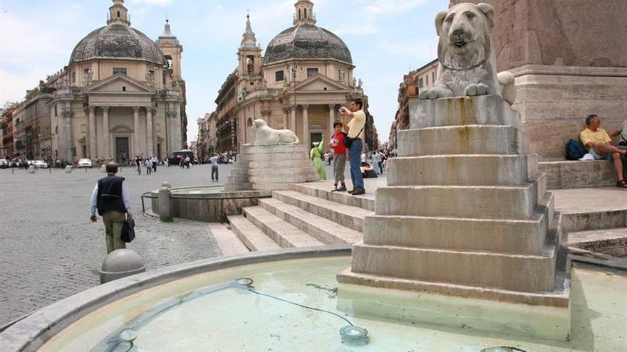 Alertan de falta de agua en Roma por sequía y se prevén cortes de suministro