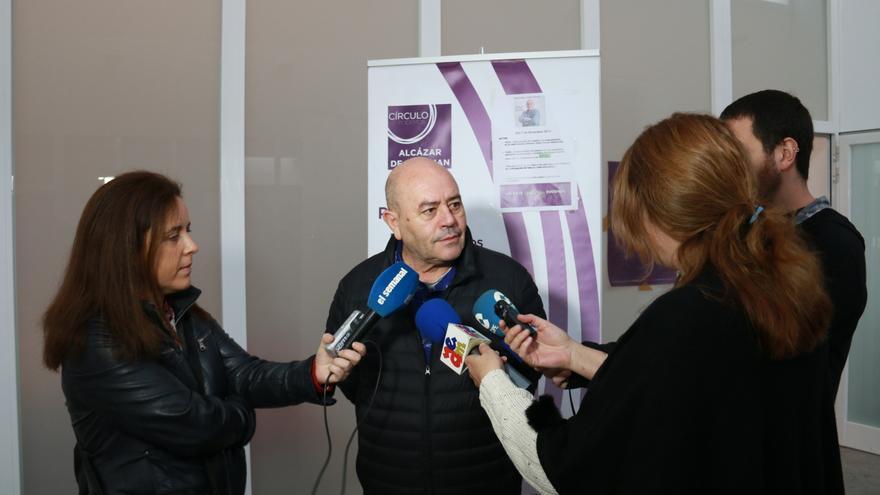 Juan Pablo Wert en comparecencia ante los medios