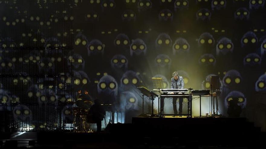 Jean-Michel Jarre despliega su universo sonoro y visual en Santo Toribio