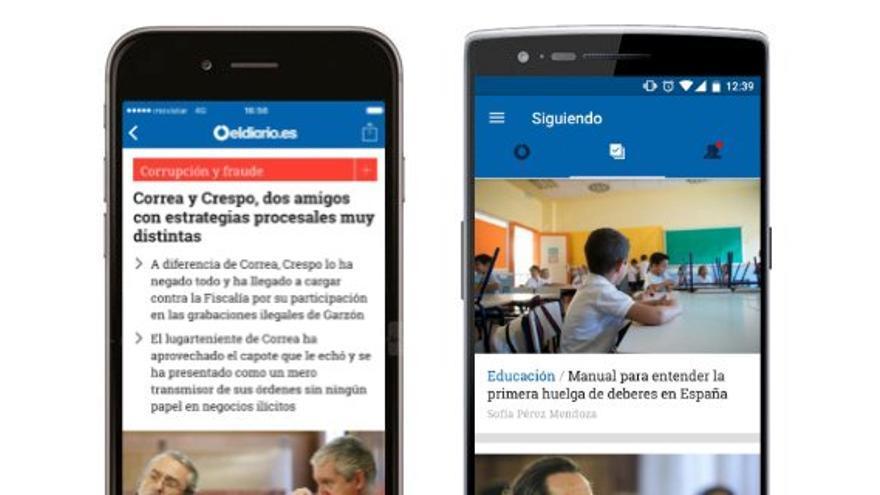 La nueva versión de la app de eldiario.es