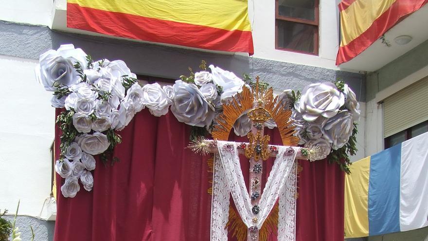 En la imagen, cruz de la Cooperativa San Martín-Timibúcar.