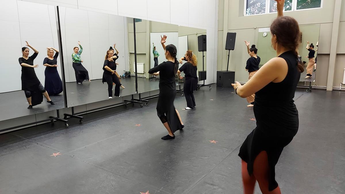 Imagen de la Escuela de Flamenco de Andalucía (EFA). EFE/Fernando Salcines