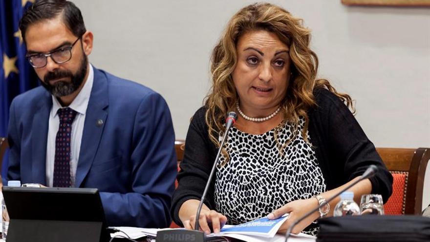 La consejera de Empleo, Políticas Sociales y Vivienda del Gobierno de Canarias, Cristina Valido