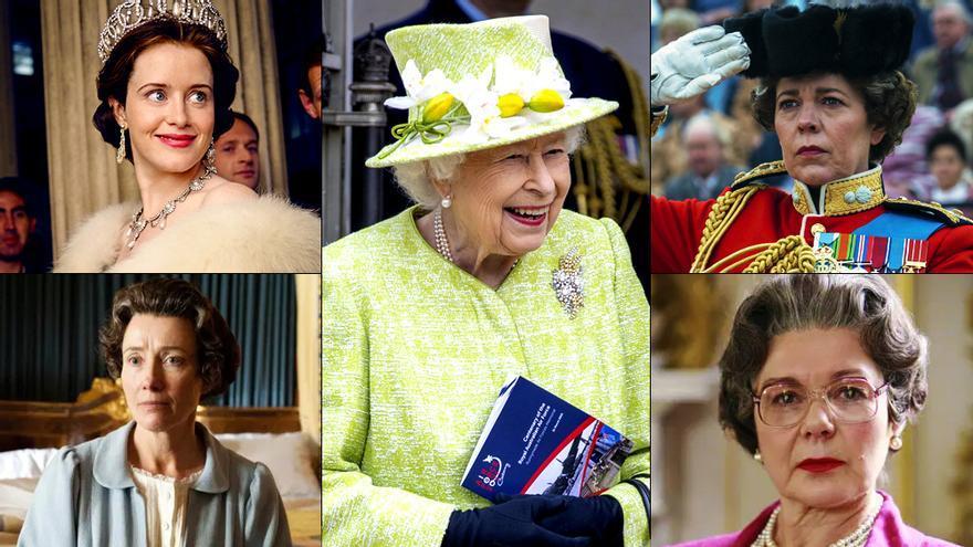 "Las series que se han ""atrevido"" a representar a la Reina Isabel II"