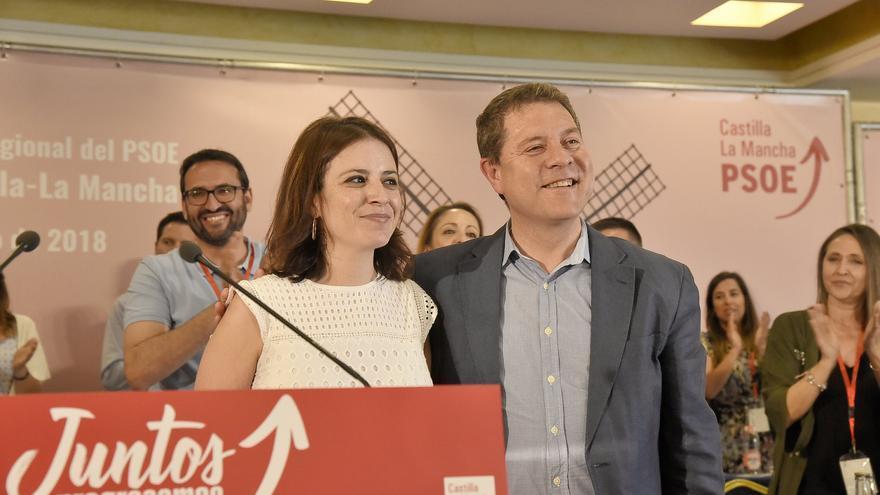 Emiliano García-Page, designado candidato a la Presidencia de la Junta por aclamación,