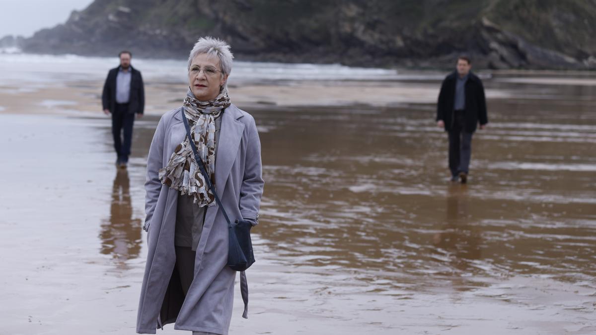 La actriz Blanca Portillo caracterizada como Maixabel Lasa en Maixabel