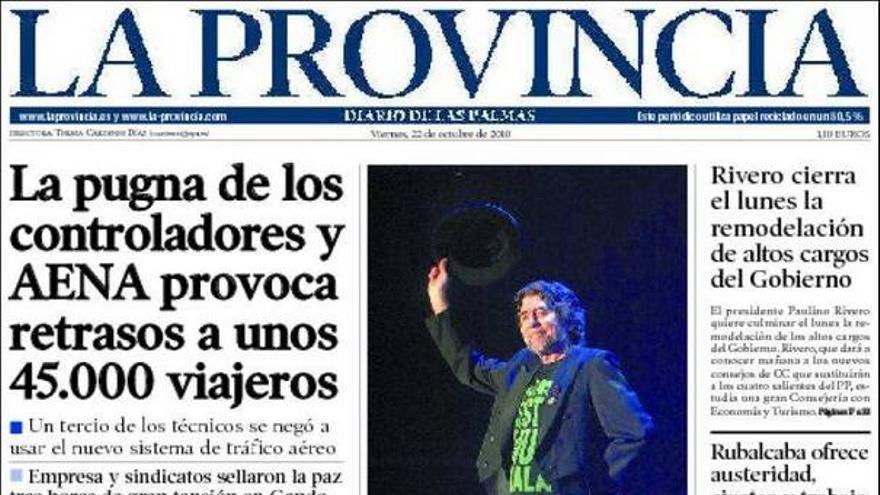 De las portadas del día (22/10/2010) #4