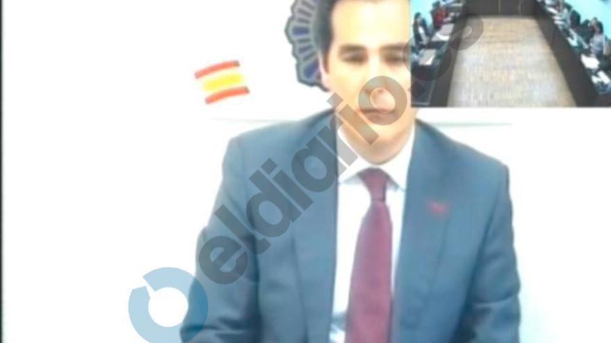 Captura de pantalla de la declaración de Nieto