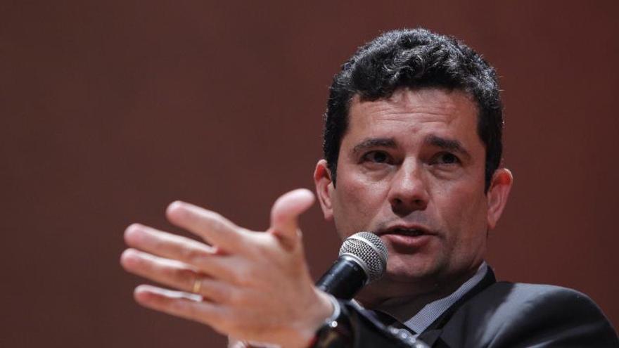 El ministro brasileño Moro niega que pretenda ser candidato presidencial en 2022