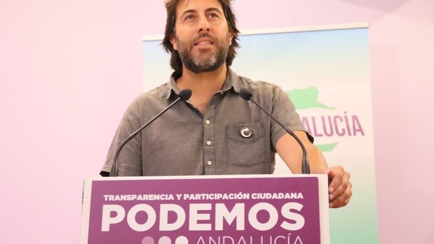 """Podemos subraya su """"reto de ser alternativa en Andalucía"""" al ver que """"el susanismo gana"""" las primarias en la región"""