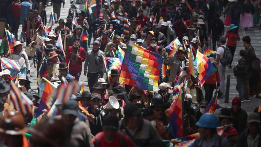Nueva jornada de incidentes en la ciudades bolivianas de La Paz y El Alto