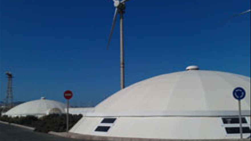 Instalaciones del ITC en Pozo Izquierdo.