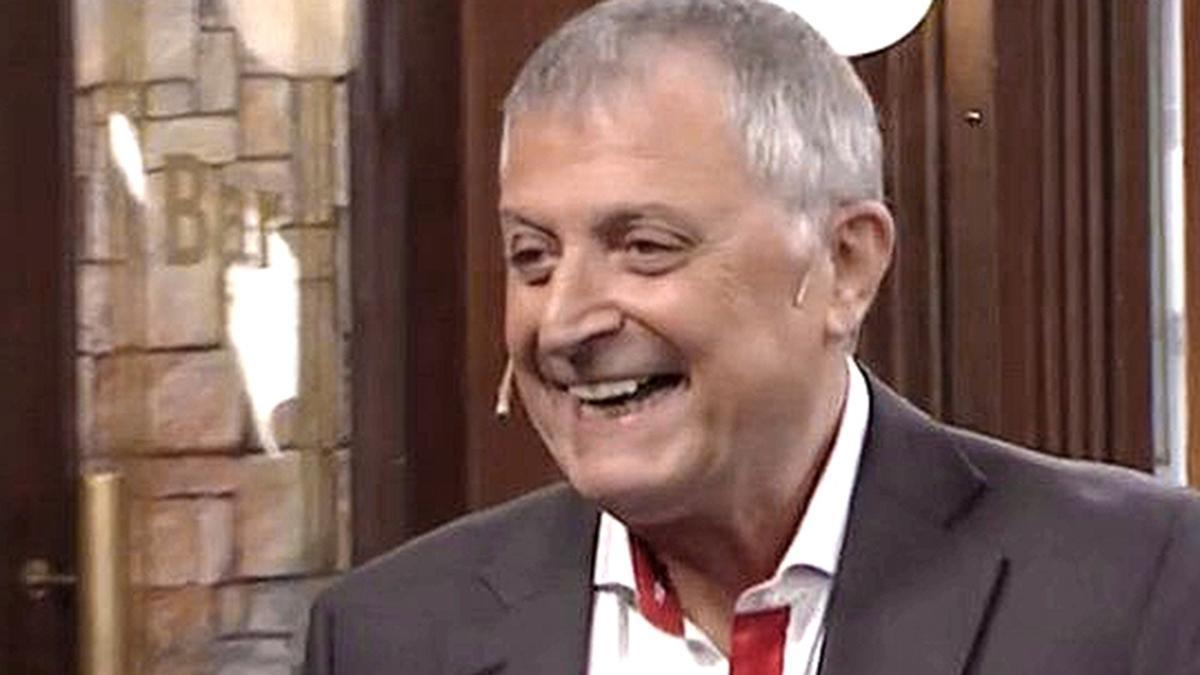 El actor y cantante Gino Renni