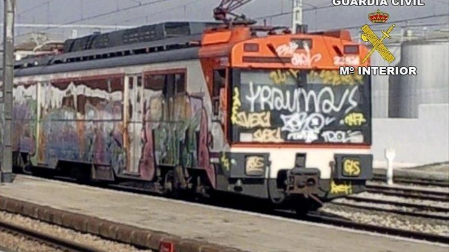 Desmantelados 17 grupos de grafiteros que causaron daños por 2 millones de euros