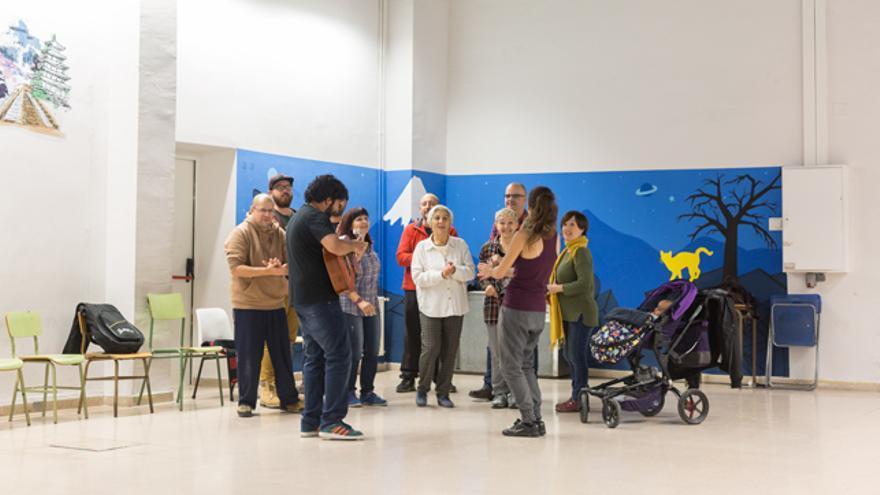 Una de las actividades que se realizan en el centro