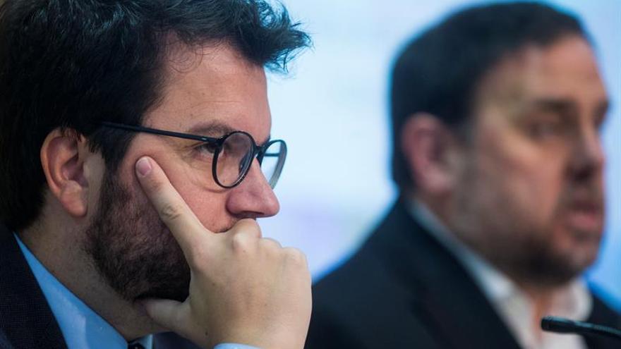 Pere Aragonès se convierte en el líder de ERC en el partido y en el Govern tras la marcha de Rovira