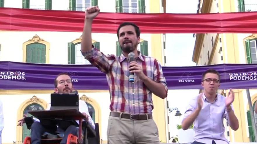 """Alberto Garzón: """"Es posible pensar en una sociedad distinta y eso ya es una victoria"""""""