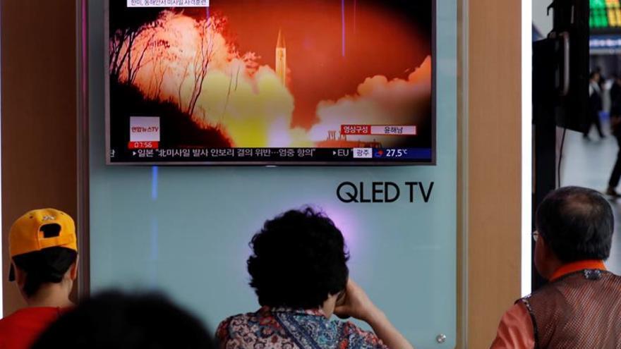 Seúl condena con dureza el último lanzamiento de misiles de Pyongyang