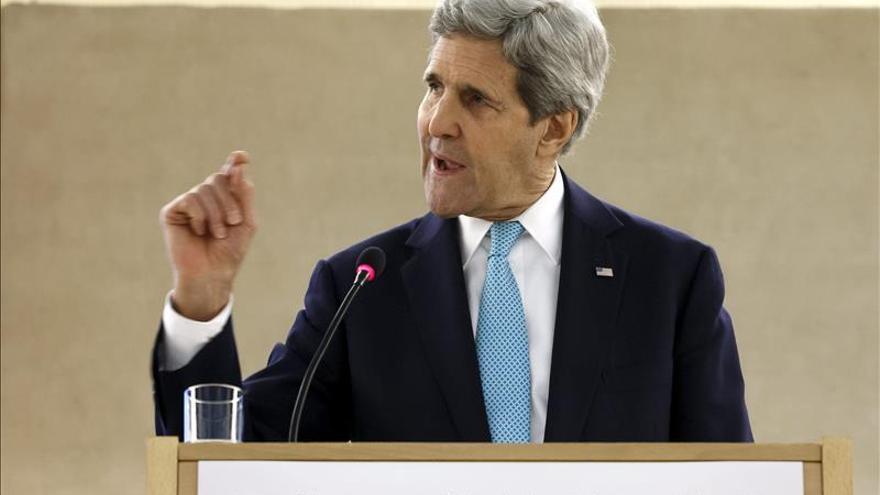 Kerry reconoce que EE.UU. tendrá que negociar con el presidente sirio Al Asad
