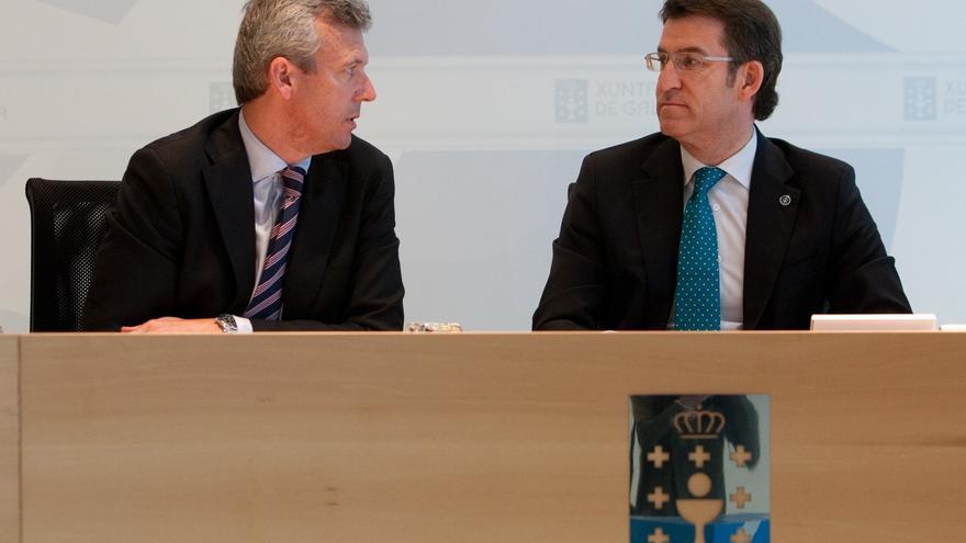 """Feijóo reitera su """"lealtad"""" a Rajoy y evita polemizar sobre Aznar con Gallardón: """"Él sabrá lo que tiene que opinar"""""""