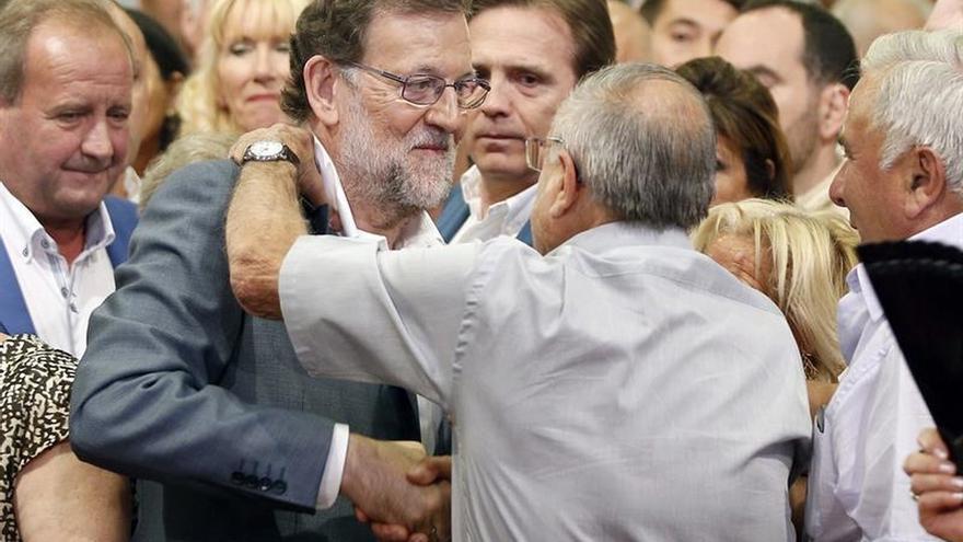 """Rajoy: """"La unión hace la fuerza y los moderados tenemos que ir juntos"""""""