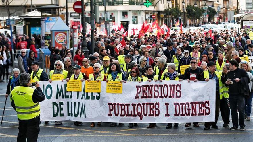 Las Marchas de la Dignidad sacan a la calle a miles de personas en España