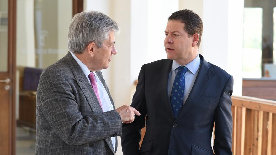 García-Page y Enrique Barón han valorado en Toledo el fallido Debate de Investidura de Rajoy
