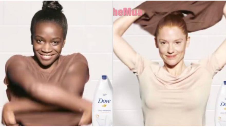 El anuncio de Dove que ha sido retirado por su contenido racista NAYTHEMUA / FACEBOOK
