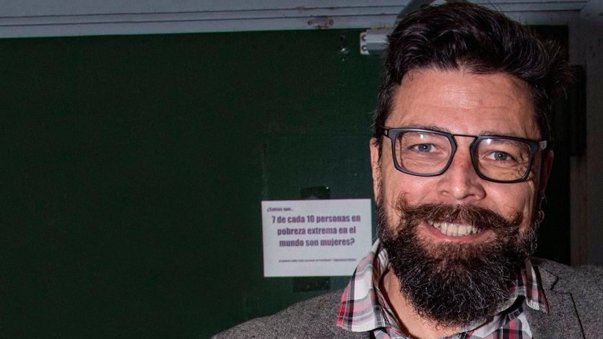 Daniel Medina, candidato a liderar Podemos en Las Palmas de Gran Canaria.