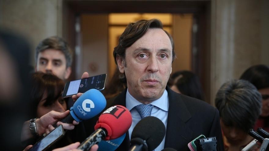 """Hernando (PP) acusa al PSOE de intentar presionar a la Justicia porque """"va en su genética"""""""