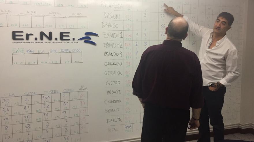 Roberto Seijo, esta noche en la sede de Erne con el panel de los resultados