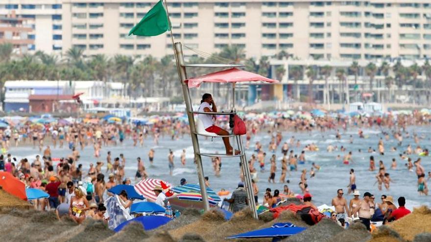 Imagen de una playa en la costa española.
