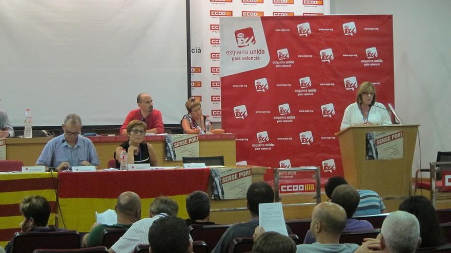 Imagen de la asamblea de EUPV