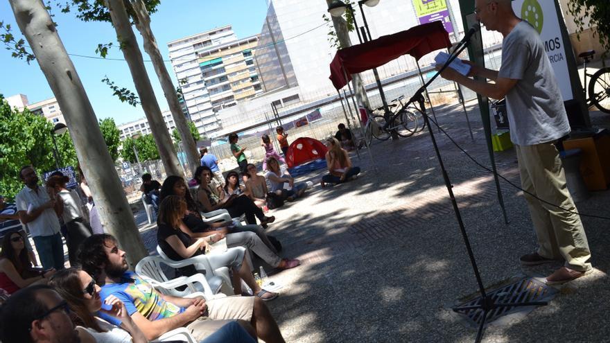 Acto de Cambiemos Murcia en el que se han expuesto las propuestas culturales de la candidatura