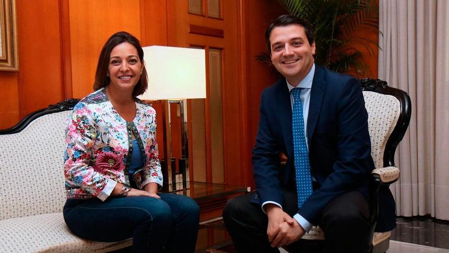 Imagen de archivo de Isabel Ambrosio y José María Bellido.
