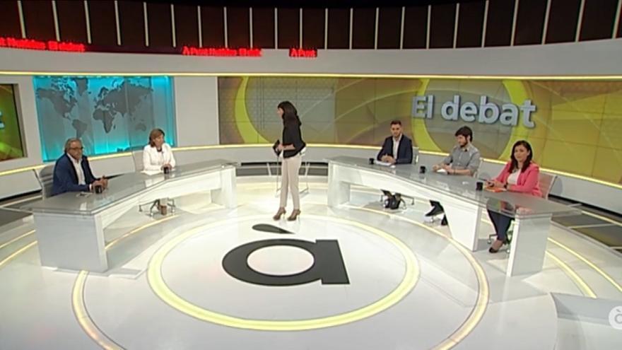 En el debate participaron los cinco síndicos de los grupos parlamentarios de les Corts