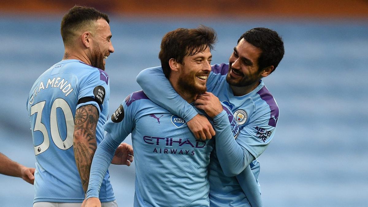 El grancanario, en su etapa con el Manchester City