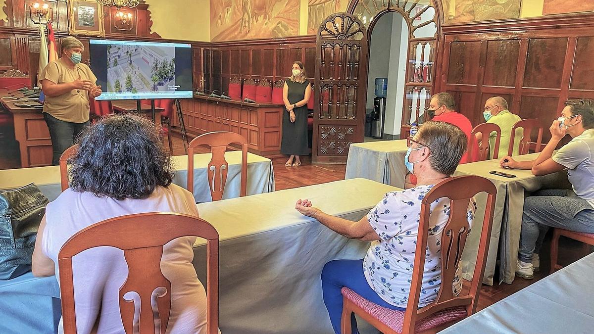 Presentación del proyecto de renovación del Mercado Municipal de Los Llanos de Aridane.