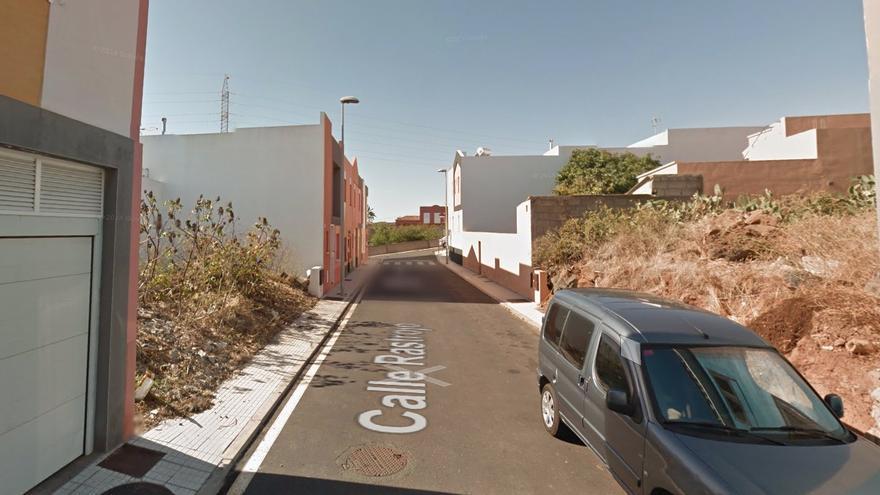 Calle Rastrojo, en La Laguna