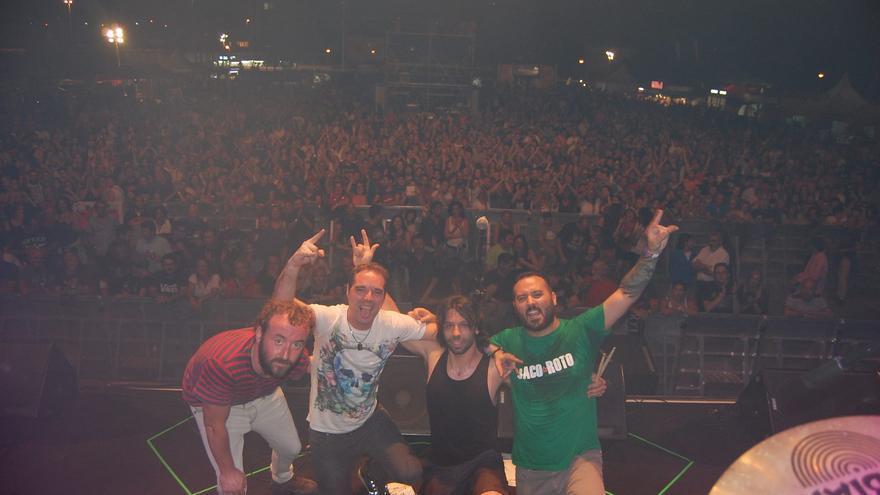 El grupo Saco Roto en el Festival Rock en la Feria de Torrelavega   FACEBOOK