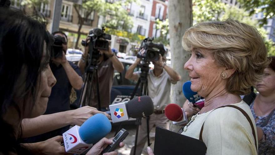 Aguirre sugiere un gobierno de concentración para la capital, incluso con Ahora Madrid