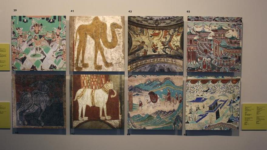 El románico español y el arte budista chino muestran paralelismos en Pekín
