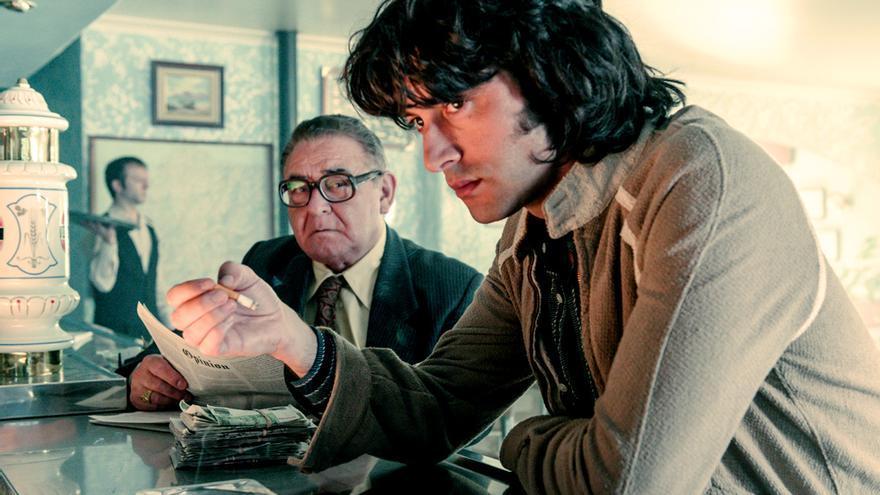 Javier Rey y Manuel Lourenzo en 'Fariña'