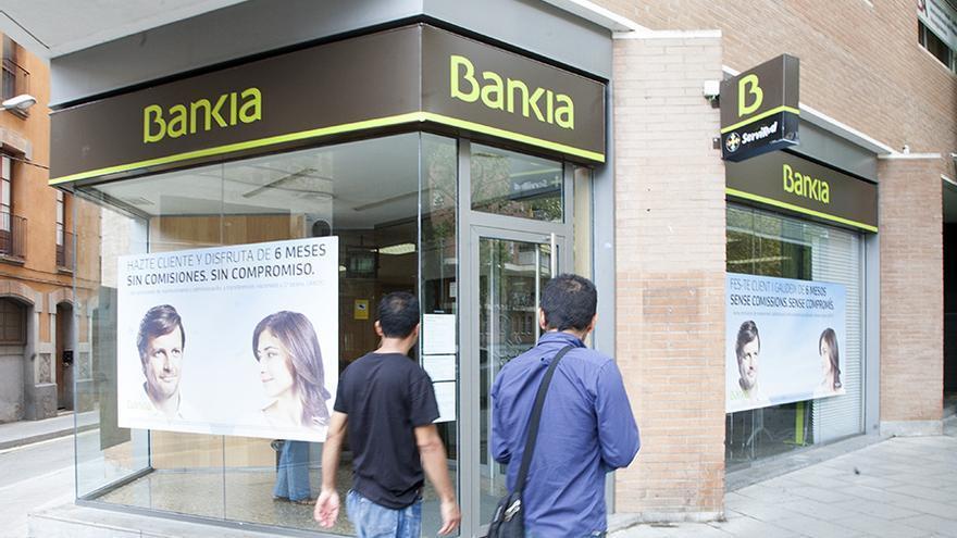 Una sucursal de Bankia