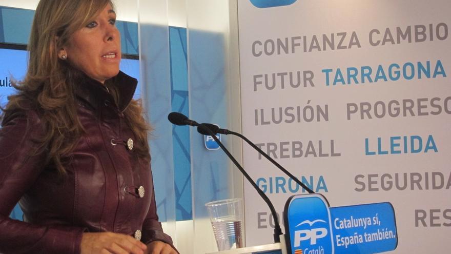 """Camacho (PP) pide al PSC que no haga el """"trabajo sucio"""" a Mas intentando legalizar el separatismo"""